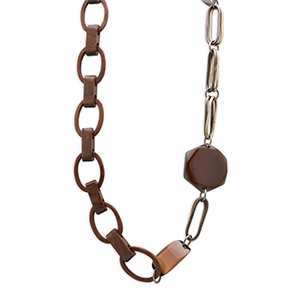 Marni - Wood and Resin Necklace
