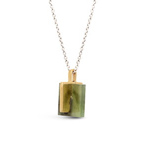 Odette - Jade Meter Necklace