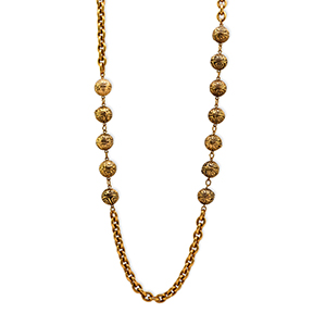 Chanel - Vintage Aztec Beaded Necklace