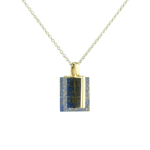 Odette - Lapis Meter Necklace