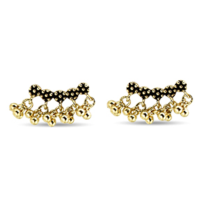 Marie Laure Chamorel - Antique Gold Earrings