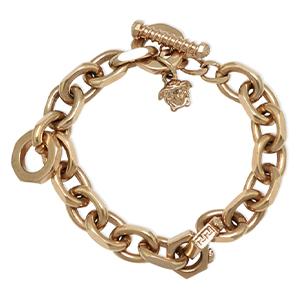 Versace - Medusa Oval Link Bracelet