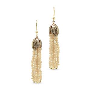 Rosantica - Metallic Grillo Tassel Earrings