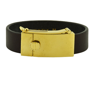 Celine - Leather Bracelet - Medium