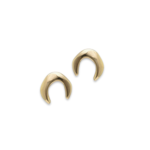 Rebecca Pinto - Petite Luna Earrings (14k Yellow Gold)